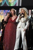 Madonna performs at the 56th annual Grammy Awards with Macklemore (49)