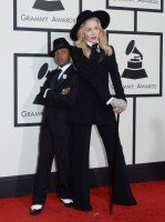 Madonna at the 56th annual Grammy Awards - 26 January 2014 - Red Carpet (9)