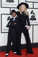 Madonna at the 56th annual Grammy Awards - 26 January 2014 - Update 1 (26)