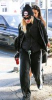 Madonna spotted in Los Angeles wearing No Excuses beanie - 25 January 2014 (10)