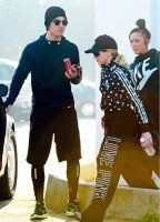 Madonna and Timor Steffens working out in Los Angeles - 29 January 2013 - Pictures (1)