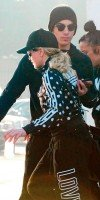 Madonna and Timor Steffens working out in Los Angeles - 29 January 2013 - Pictures (4)