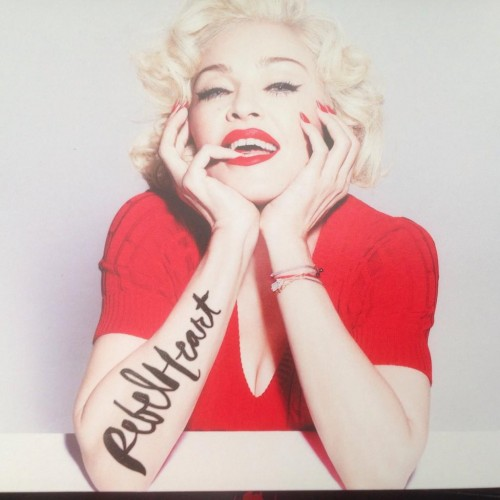 First look at Rebel Heart Booklet (8)