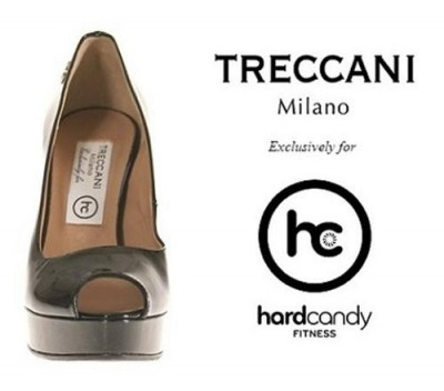 Treccani Milano Designs Exclusive Limited Edition Pumps for Madonna Hard Candy Fitness Toronto