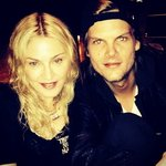 Madonna in the studio with Avicii 01