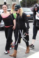 Madonna out and about in Los Angeles - 17 April 2014 (1)