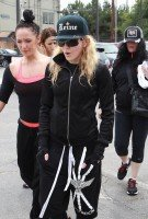 Madonna out and about in Los Angeles - 17 April 2014 (11)