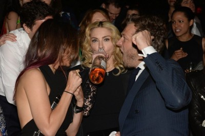 Madonna attends Party in the Garden event, MoMA, New York 02