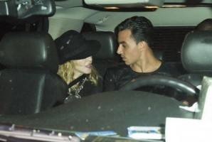 Madonna attends Holler If Ya Hear Me on Broadway with Timor Steffens - 16 June 2014 (9)