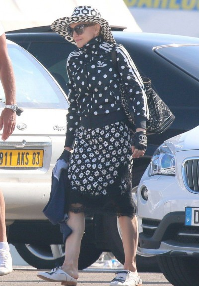 Madonna out and about in Cannes - 7 August 2014 (1)