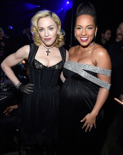 Madonna at the Keep A Child Alive's 11th Annual Black Ball, New York - 30 October 2014 (2)