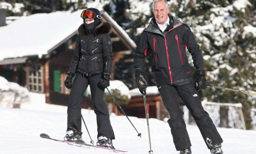 Madonna spotted skiing in Gstaad, Switzerland - 31 December 2014 (3)