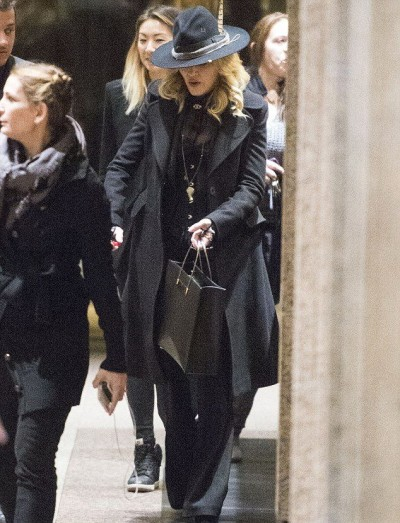 Maodnna out and about in New York - 24 January 2015 - Pictures 02