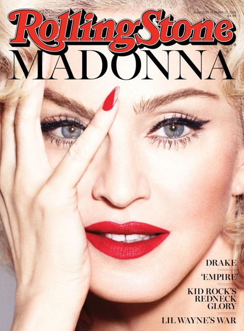 Madonna by Alas and Piggott for Rolling Stone - Cover