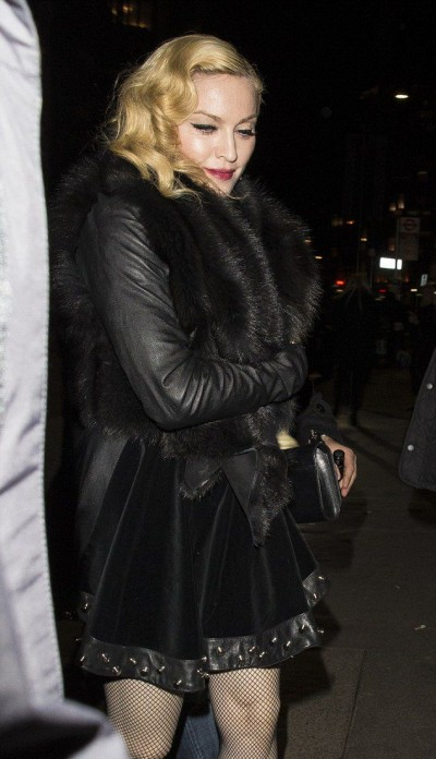 Madonna at Annabel's in London - 26 February 2015 (4)