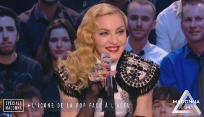 Madonna at Le Grand Journal - 2 March 2015 (2)