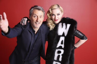 Madonna meet and greet Le Grand Journal 01