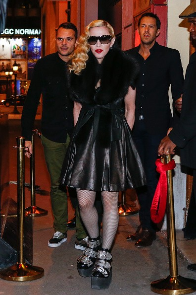 Madonna out and about in Paris - 2 March 2015 (32)
