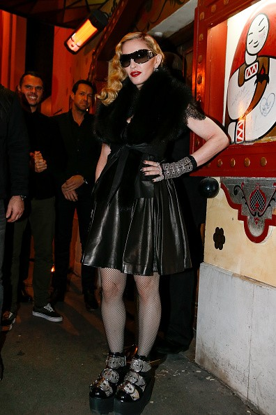 Madonna out and about in Paris - 2 March 2015 (33)