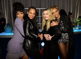 Madonna and Rihanna at the TIDAL press conference (7)
