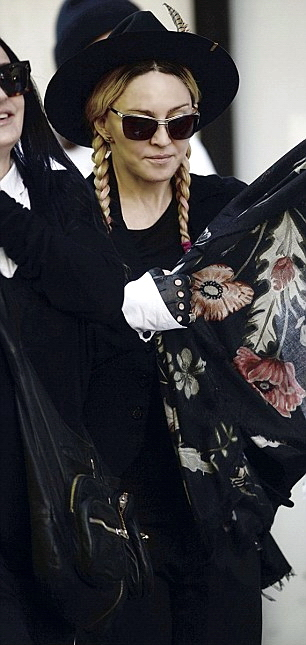 Madonna out and about New York - 23 May 2015 (2)
