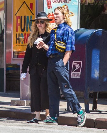 Madonna out and about in New York - 7 August 2015 (13)