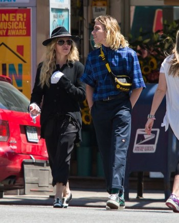 Madonna out and about in New York - 7 August 2015 (18)