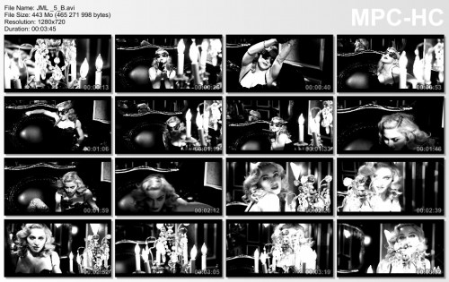 Video - MDNA Tour Backdrop - Justify My Love (Take 5 RAW)