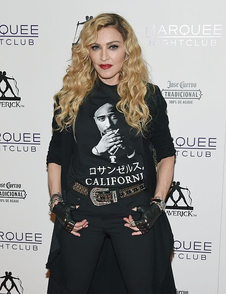 Madonna at the Marquee Nightclub in Las Vegas - 25 October 2015 (1)