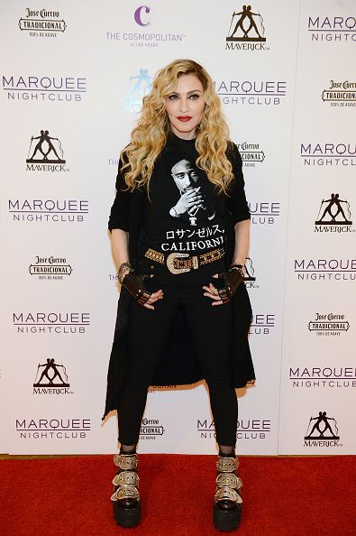 Madonna at the Marquee Nightclub in Las Vegas - 25 October 2015 (3)