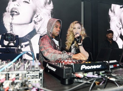 Madonna at the Marquee Nightclub in Las Vegas - 25 October 2015 (8)