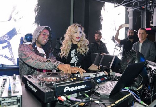 Madonna at the Marquee Nightclub in Las Vegas - 25 October 2015 (9)