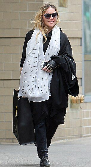 Madonna out and about in New York 1 April 2016 - Pictures 02
