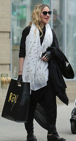 Madonna out and about in New York 1 April 2016 - Pictures 03