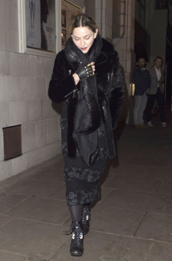 Madonna and Rocco out and about in London - 11 April 2016 (1)