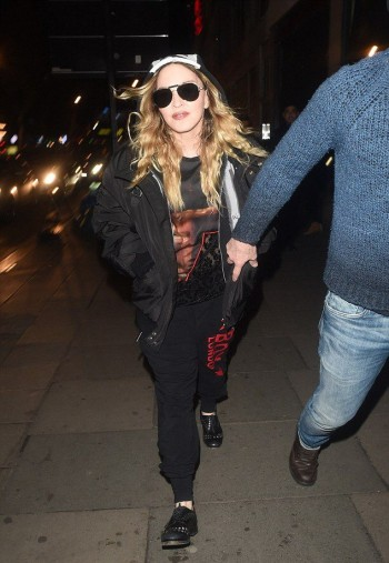 Madonna and Rocco out and about in London - 16 April 2016 (2)