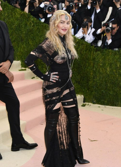 Madonna attends the Met Gala at the Metropolitan Museum of Art in New York - 2 May 2016 (1)