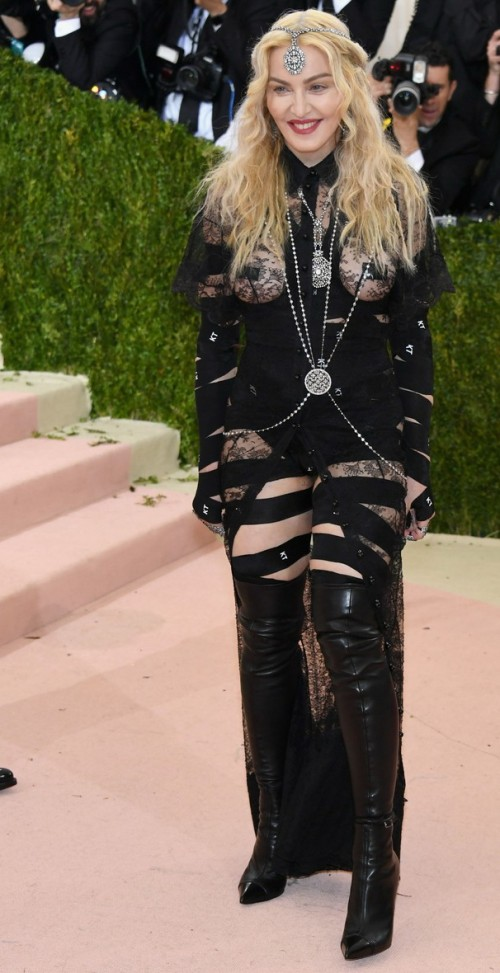 Madonna attends the Met Gala at the Metropolitan Museum of Art in New York - 2 May 2016 (3)