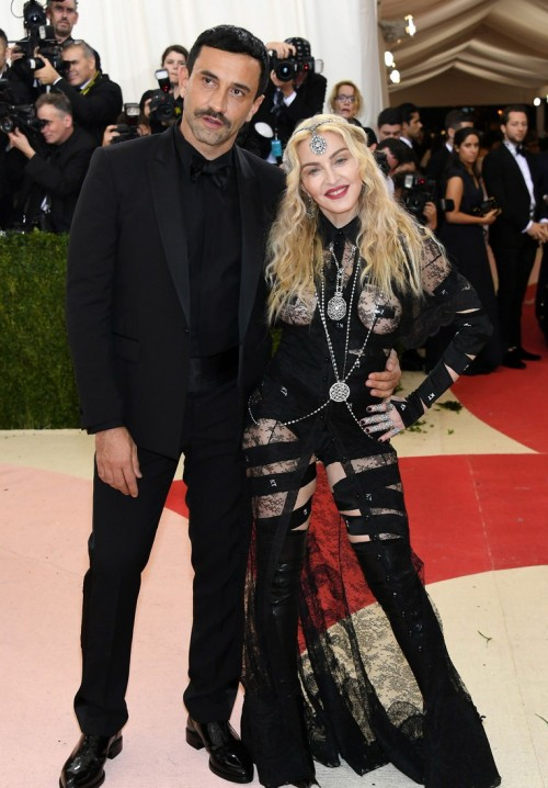 Madonna attends the Met Gala at the Metropolitan Museum of Art in New York - 2 May 2016 (5)