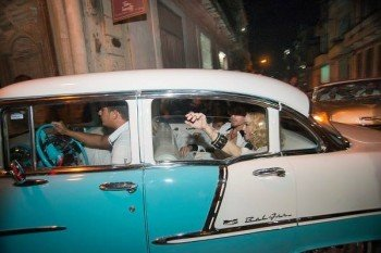 Madonna at La Guarida in Havana, Cuba - August 2016 - Pictures & Video (2)