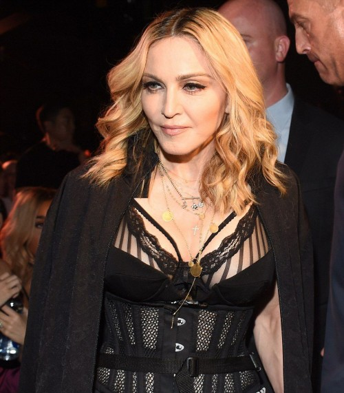 Madonna at the Alexander Wang Fashion Show, New York - 10 September 2016 - Pictures & Videos (16)