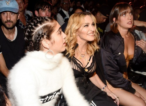 Madonna at the Alexander Wang Fashion Show, New York - 10 September 2016 - Pictures & Videos (17)