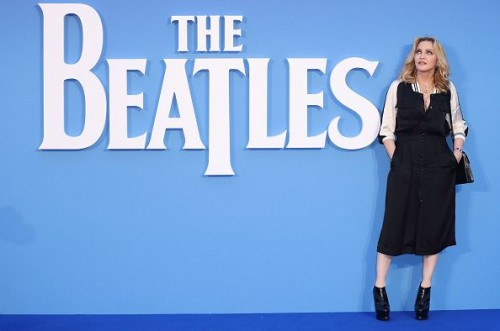 Madonna at the new Beatles documentary in London - 15 September 2016 - Pictures and Videos (1)