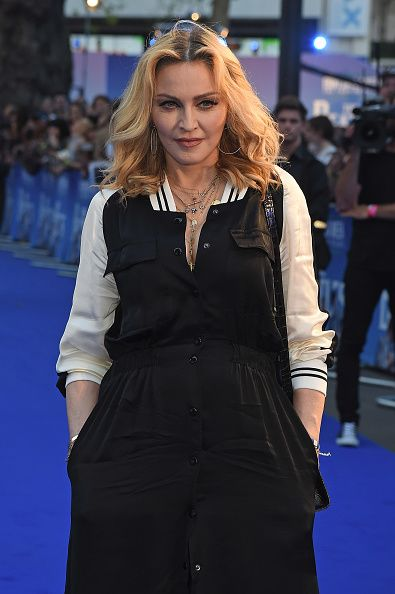 Madonna at the new Beatles documentary in London - 15 September 2016 - Pictures and Videos (16)