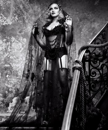 Madonna by Luigi and Iango for Harpers Bazaar (1)
