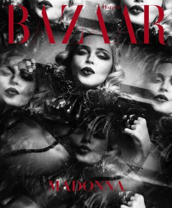 Madonna by Luigi and Iango for Harpers Bazaar Cover 02