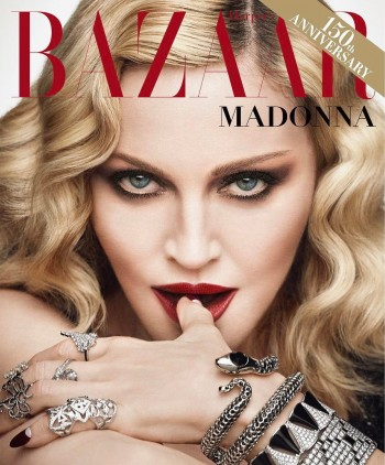 Madonna by Luigi and Iango for Harpers Bazaar Cover 01