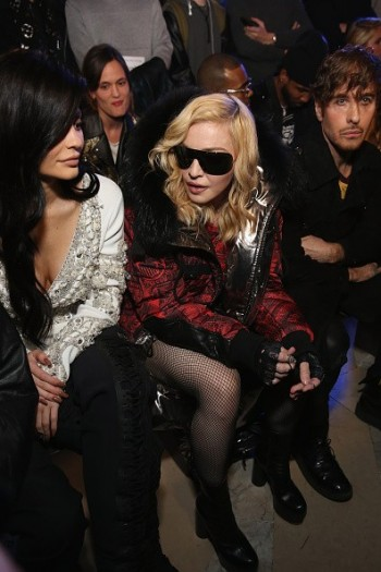 Madonna attends Philipp Plein fashion show, New York - 13 February 2017 (6)