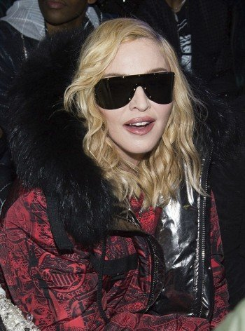 Madonna attends Philipp Plein fashion show, New York - 13 February 2017 (2) (4)