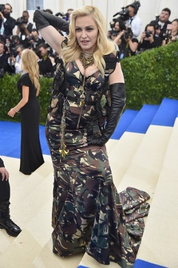 Madonna attends the Met Gala at the Metropolitan Museum of Art in New York - 1 May 2017
